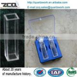 Quartz Cuvette Price/Quartz Flow cell for UV/Visible spectrophotometer                                                                         Quality Choice