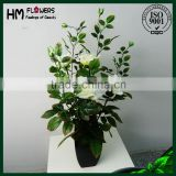real touch artificial flower high quality rose tree