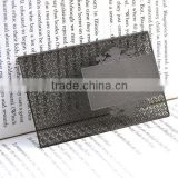 Metal business card China blank design for distribution                                                                                                         Supplier's Choice