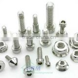 Different Types Nuts Bolts (Hex bolt and nut, flange bolt and nut, lock nut, wing nut, etc)