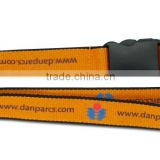hot sale good quality lanyard for breakaway and oval hook with release buckle satin lanyard