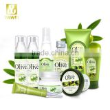 natural olive oil cosmetics face cream lotion essence mask eye cream(9pcs/set) skin care set