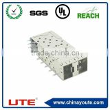 right/straight angle SFP cage connector UL approved