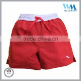 Wholesale cotton twill blank 3 color ways board men boys shorts