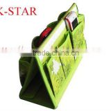 non-woven foldable table storage bags / folding desk storage boxes
