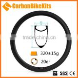 Customized CBK 38mm deep 23mm wide bmx 406 20 inch bicycle rims clincher                                                                         Quality Choice