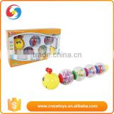 Baby musical learning toys educational electronic plastic caterpillar toys
