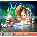 energy saving p4 indoor usage LED video display