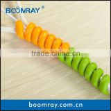 Boomray factory 2pcs wiggly and colorful cable clip car visor sunglass holder clip                                                                         Quality Choice