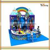 Plastic children indoor playground equipment canada for play center                                                                         Quality Choice