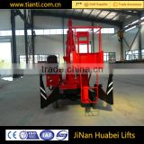 Distributors wanted portable telescopic aerial work platform articulated boom lift hot sale