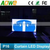 led outdoor screen, led mesh screen, high quality p16 led hd xxx china video screen/hd                                                                         Quality Choice