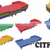 kindergarten furniture kids folding plastic bed CIT-8B0129