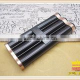 Alloy metal cigar tube stainless steel tube three cigarette Cigar tube, cigar tool, cigar smoking