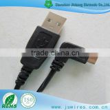 High speed USB A/M to right angle micro 5pin cable data transfer& charge                                                                         Quality Choice