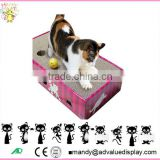 Factory Customized Pet Toy Corrugated Cat scratcher lounge /cardboard Cat Scratcher                                                                         Quality Choice