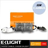 EK Emark CE RoHS Approved 55w Car Truck HID Head Light Xenon Kit Slim Smart System Plug and Play CANBUS HID Ballast