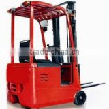 TKA 1-1.5ton 3-wheel battery forklift with triplex mast