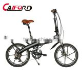 Mountain style PVC mudguard electric foldable bike
