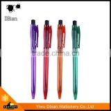 The latest style new style plastic ball point pen specifications with advanced technology