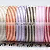 Wholesale YIWU FACTORY Stripe Fabric Washi Tape 15mm wide Roll Craft Decorative Sticky Cotton Adhesive