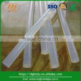 Wholesale high quality transparent EVA hot melt adhesive glue stick for metal, aluminum and plastic bonding