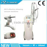 the amazing body slimming machine, RF+Rooler+Vacuum+Lipo multifunctional slimming machine hot in USA