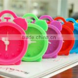 Modern Promotional table silicone clock,silicone alarm clock online shop