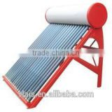 Solar Water Heater, three target vacuum tube Solar Water Heater, chinese factiory solar tube cup-solar water heater parts