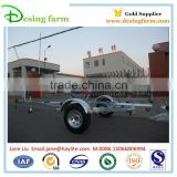 3800 hot dipped galvanized boat trailer with kit and wheel