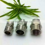 SS304 stainless steel nipple , steel male thread connector