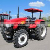 80 hp 4wheel forest tractors with log trailers and cranes