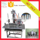 Semi automatic can capping insecticide spray filling machine