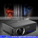 portable mini HD Led projector 1800 lumens GP 80 led projector for home theatre