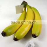 artificial PE banana for decoration