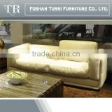 living room modern sectional Italian leather sofa