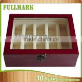 Piano lacquer finish new design wooden watch box