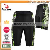 BEROY Wholesale Men Cycling Shorts with 3D gel pad, Custom Bicycle Shorts