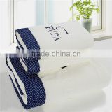 Cotton Luxury Hotel Bath Towel / Spa Bath Towel 100% Genuine Cotton/ Set of 3 White Bath Towel