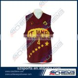 cheap wholesale sublimated reversible plain basketball jerseys,supply type basketball shooting shirt