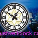 oversize building wall clock