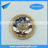 Factory Directly Custom Metal Challenge Coin Cheap price custom Souvenir Coins gold plated coin