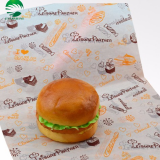 Food grade wrapping paper, hamburger wrapping paper