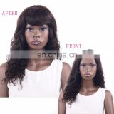 100% human hair fringe bang with 18 different color in stock