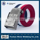 fashionable customized mens elastic stretch belts