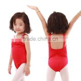 Kids Hot Sale Pinch Front and Back Ballet Dance Leotards Costumes