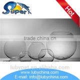 Low price wholesale glass fish bowls for table decoration