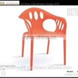 Malaysia Johor Batu Pahat Lovinna Cafe Chair / Coffee House Chair / Bar Chair / Lounge Chair