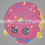 Lovely Cartoon rhinestone iron on transfer for baby's cute clothes