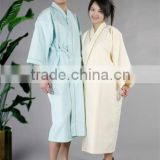Soft handfeel and beautiful warmer robes for women men sexy silk bathrobe